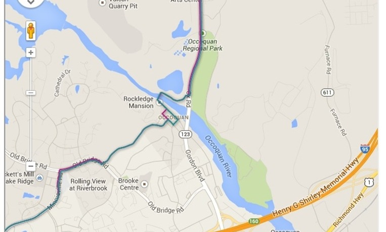 Area Trail Maps - The Town of Occoquan